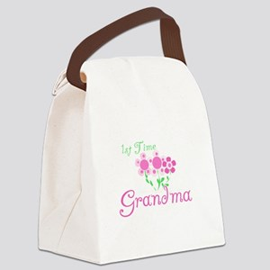 1sttimegrandmaaa Canvas Lunch Bag