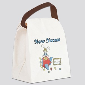NEWNANAPLANE Canvas Lunch Bag