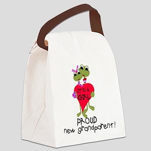 froggrandparentgirl Canvas Lunch Bag