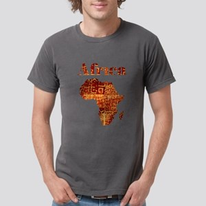 Ethnic Africa Mens Comfort Colors Shirt
