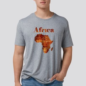 Ethnic Africa Mens Tri-blend T-Shirt
