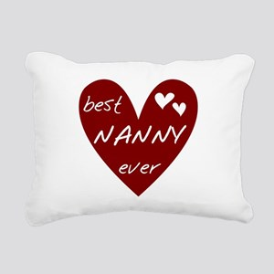 redbesNANNY Rectangular Canvas Pillow