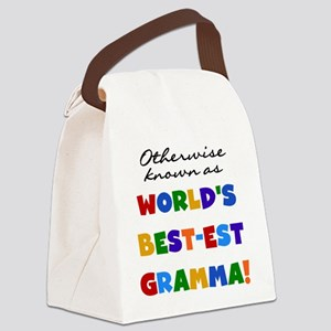 GRANDCOLORSGRAMMAB Canvas Lunch Bag