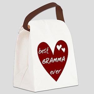 redbestgraMMA Canvas Lunch Bag