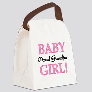 BABYGIRLPRDGPA Canvas Lunch Bag