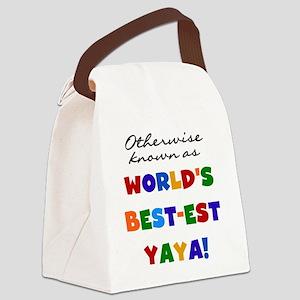 GRANDCOLORSYAYAB Canvas Lunch Bag