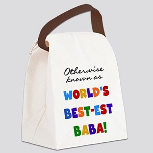 Otherwise Known Best Baba Canvas Lunch Bag