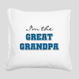 BLEUGREATGRANDpA Square Canvas Pillow