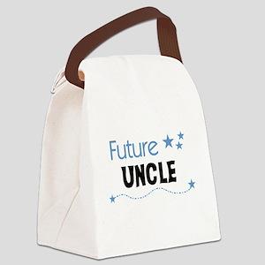 futureuncleblueimag Canvas Lunch Bag