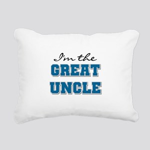 bluegreatuncle Rectangular Canvas Pillow