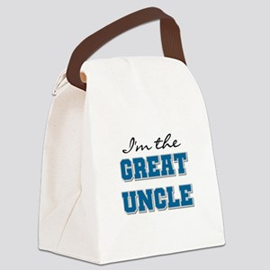 bluegreatuncle Canvas Lunch Bag