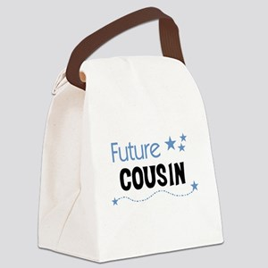 FUTURECOUSINBLUEAA Canvas Lunch Bag