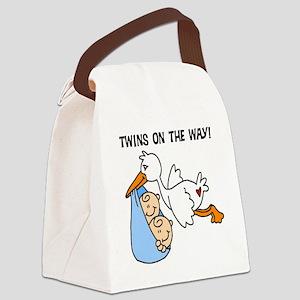 TWINSONWAYTEE Canvas Lunch Bag