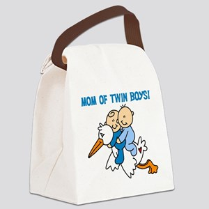 momtwinboystee Canvas Lunch Bag