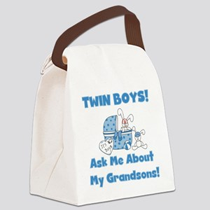 twinsgrandsons Canvas Lunch Bag