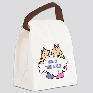 MOMTWINGIRLSTEE Canvas Lunch Bag
