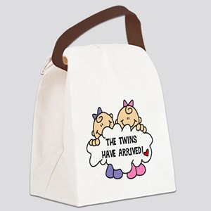 TWINSARRIVED3 Canvas Lunch Bag