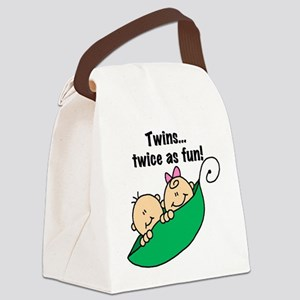 twinstwiceasfun23 Canvas Lunch Bag