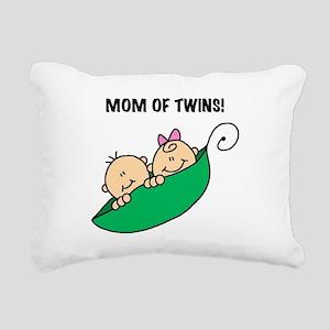 MOMOFTWINSPEAS Rectangular Canvas Pillow