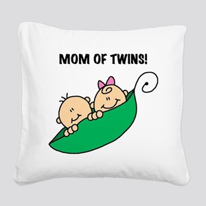 MOMOFTWINSPEAS Square Canvas Pillow