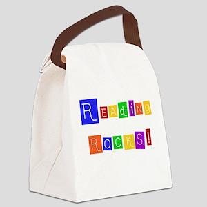 readingrocksshirt Canvas Lunch Bag