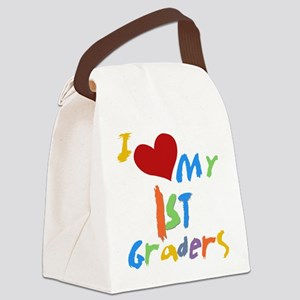 I Love My 1st Graders Canvas Lunch Bag