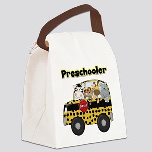 schoolpreschooler Canvas Lunch Bag