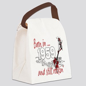 Birthyear 1959 copy Canvas Lunch Bag
