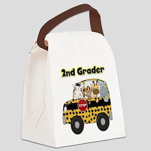 school2ndgrader Canvas Lunch Bag