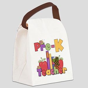 prekappletteacher Canvas Lunch Bag