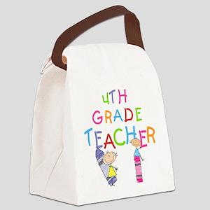 CRAYON4THGRADE Canvas Lunch Bag