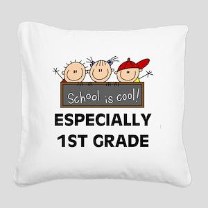 SCHOOLCOOL1ST Square Canvas Pillow