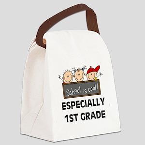 SCHOOLCOOL1ST Canvas Lunch Bag