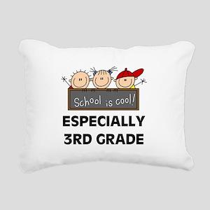 SCHOOLCOOL3RD Rectangular Canvas Pillow
