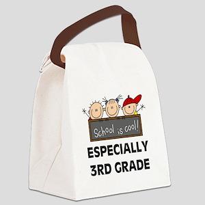 SCHOOLCOOL3RD Canvas Lunch Bag