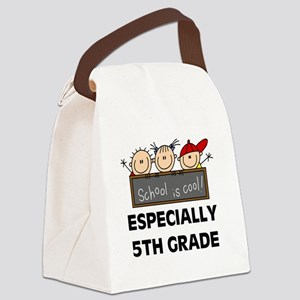 SCHOOLCOOL5TH Canvas Lunch Bag