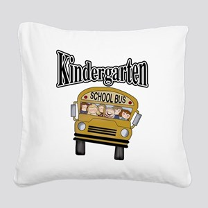kgardtenbustee Square Canvas Pillow