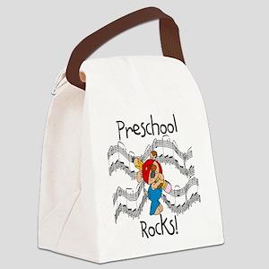 preschoolrocks Canvas Lunch Bag