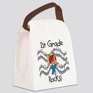 1stgraderocks Canvas Lunch Bag
