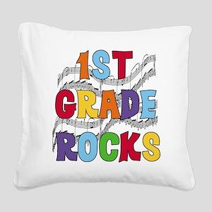 MUSICAL1STGRADE Square Canvas Pillow