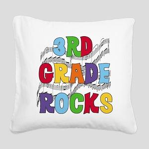 MUSICAL3RDGRADE Square Canvas Pillow