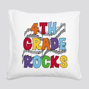 MUSICAL4THGRADE Square Canvas Pillow