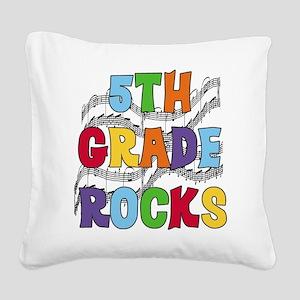 MUSICAL5THGRADE Square Canvas Pillow