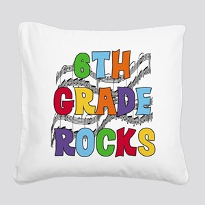 MUSICAL6THGRADE Square Canvas Pillow