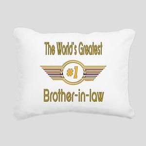 GREENbrotherinlaw Rectangular Canvas Pillow
