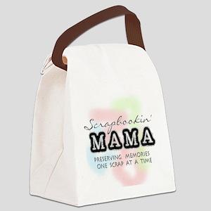 scrapbookinmama Canvas Lunch Bag