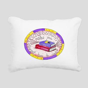 KATSCRAPBOOKCOOK Rectangular Canvas Pillow