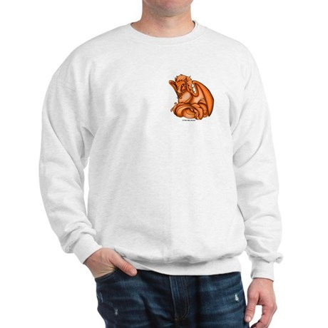 Orange Dray Sweatshirt