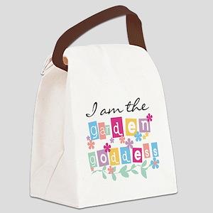 Garden Goddess Canvas Lunch Bag