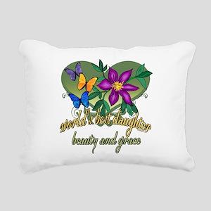 Butterflydaughter Rectangular Canvas Pillow